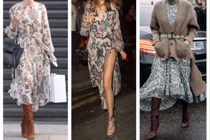 Платья в стиле бохо – лучший способ заявить о себе