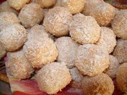 Печенье «Кокосовые шарики с начинкой»