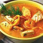 Португальский рыбный суп