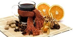 Апельсиновый глинтвейн с корицей