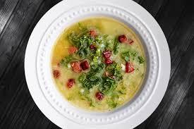 Caldo Verde картофельный зелёный суп по-португальски