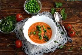 Гороховый суп с томатным соком