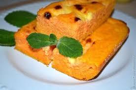 Морковно-картофельная запеканка для детей