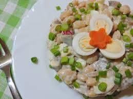 Закуска из сельди с яйцом