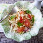 Капустный салат с грейпфрутом