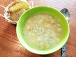 Греческий рыбный суп с рисом