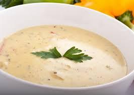 Суп-пюре из белой фасоли
