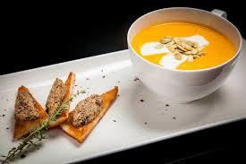 Тыквенный крем-суп (с сыром)