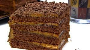 Домашний торт «Шоколадный медовик»