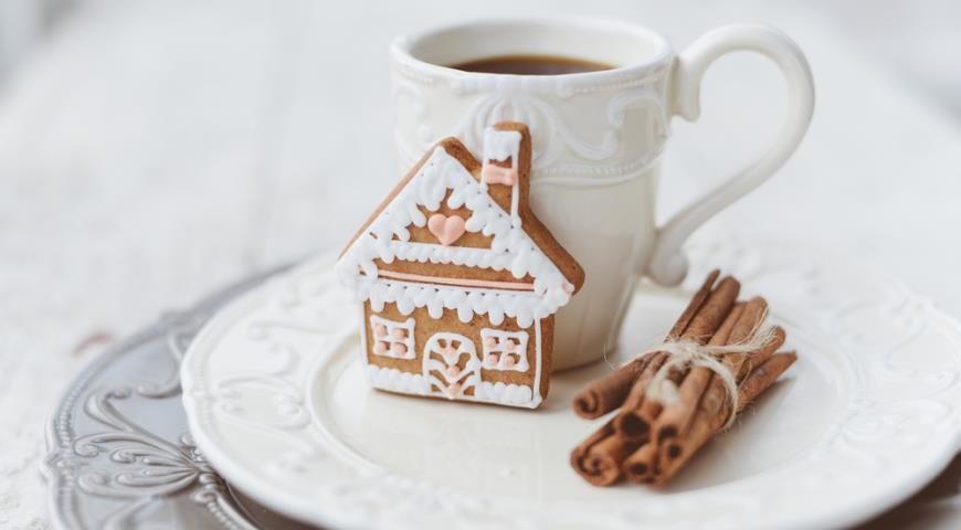 Имбирное печенье с какао к новогодним праздникам
