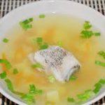 Рыбный суп с минтаем