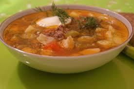 Суп с капустой «Чехословацкий»