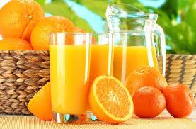 Сок из апельсина