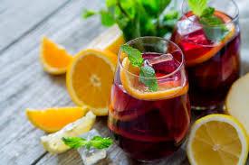 Напиток «Сангрия» с красным вином
