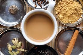 Молочный напиток с чайными специями