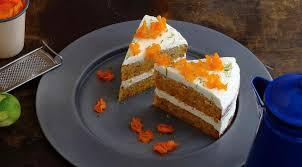 Пряный морковный торт на оливковом масле