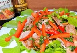 «Сябу-сябу» японский салат