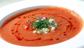 Испанский суп-пюре гаспачо