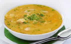 Гороховый суп с куриной грудкой