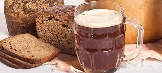 Квас на ржаном хлебе