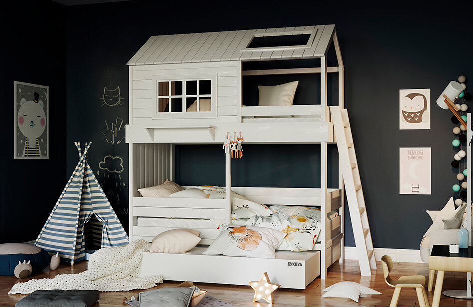 Сказочный домик вместо скучной кровати: теперь это просто