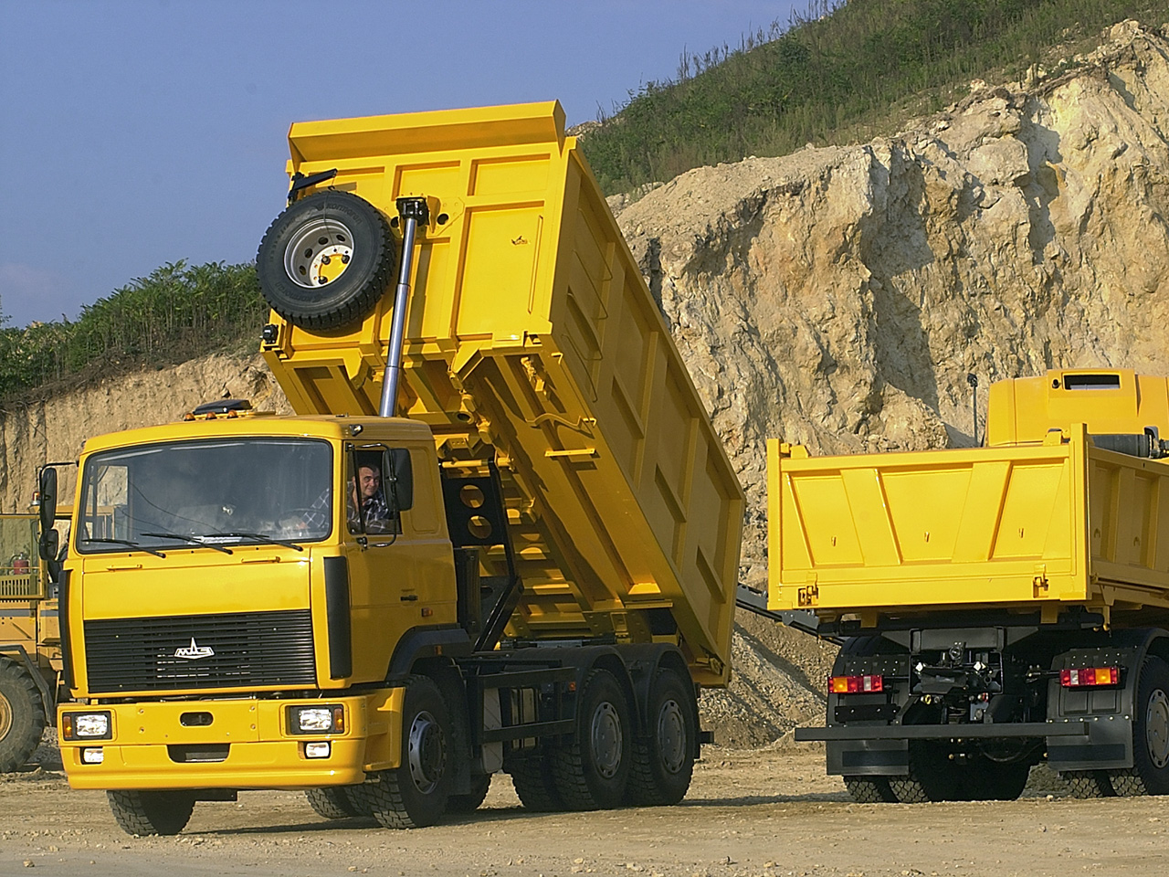 Сервис грузовых автомобилей МАЗ