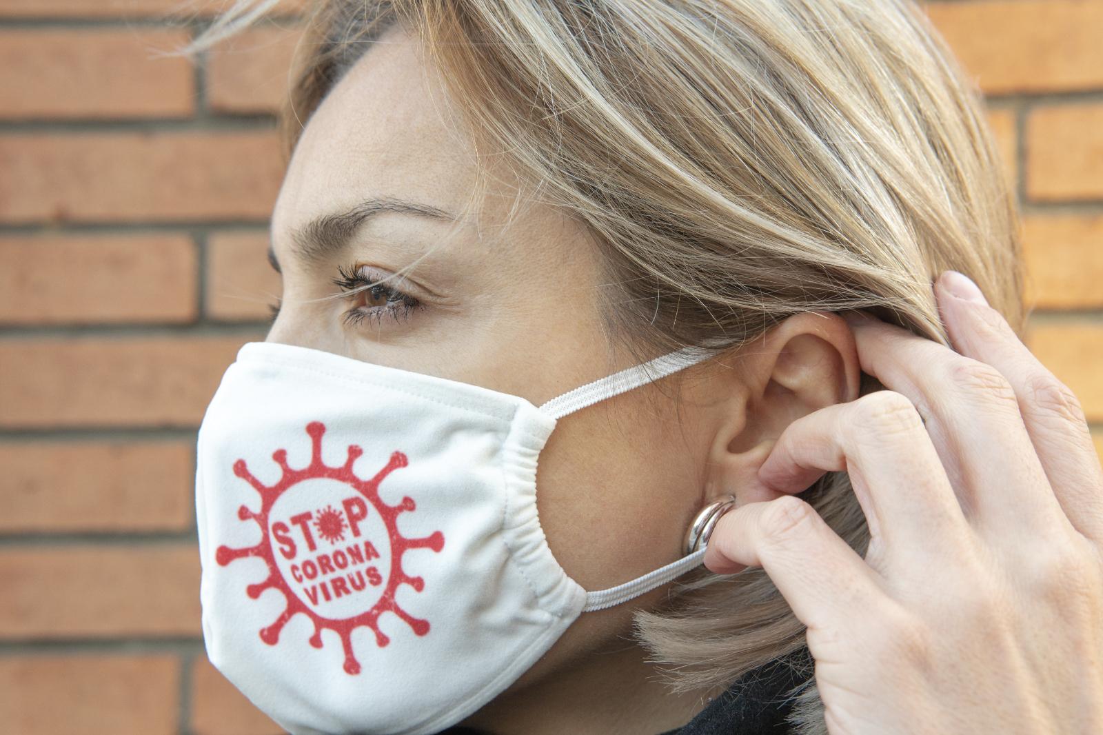 «Ковид не пройдет!». Наклейки на маски с надписями и другая продукция линейки «STOP COWID», приуроченная ко Дню Победы