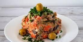 «Щепетильный язычок» салат