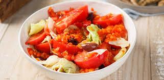 Салат в средиземноморском стиле