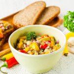 Хоровац, икра из печеных овощей