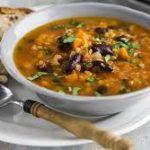 Суп с фасолью и чечевицей