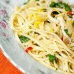 Умопомрачительные спагетти с кальмарами