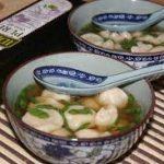 Китайский суп «Вонтон»