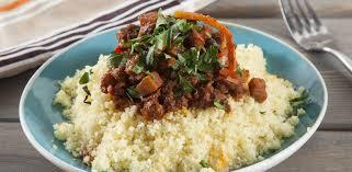 Быстрый кус-кус с фаршем и овощным соте