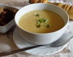 Постный суп-пюре с черносливом и чесноком (без масла)