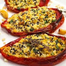 Перцы «Рамиро», запеченные с сыром