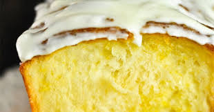 Кекс из цукини с лимонной глазурью