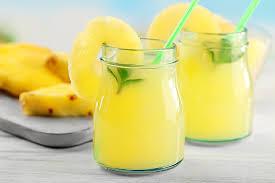 Лимонад с ананасовым соком