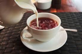 Чай каркаде с молоком