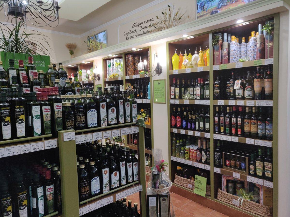 Как открыть магазин оливкового масла