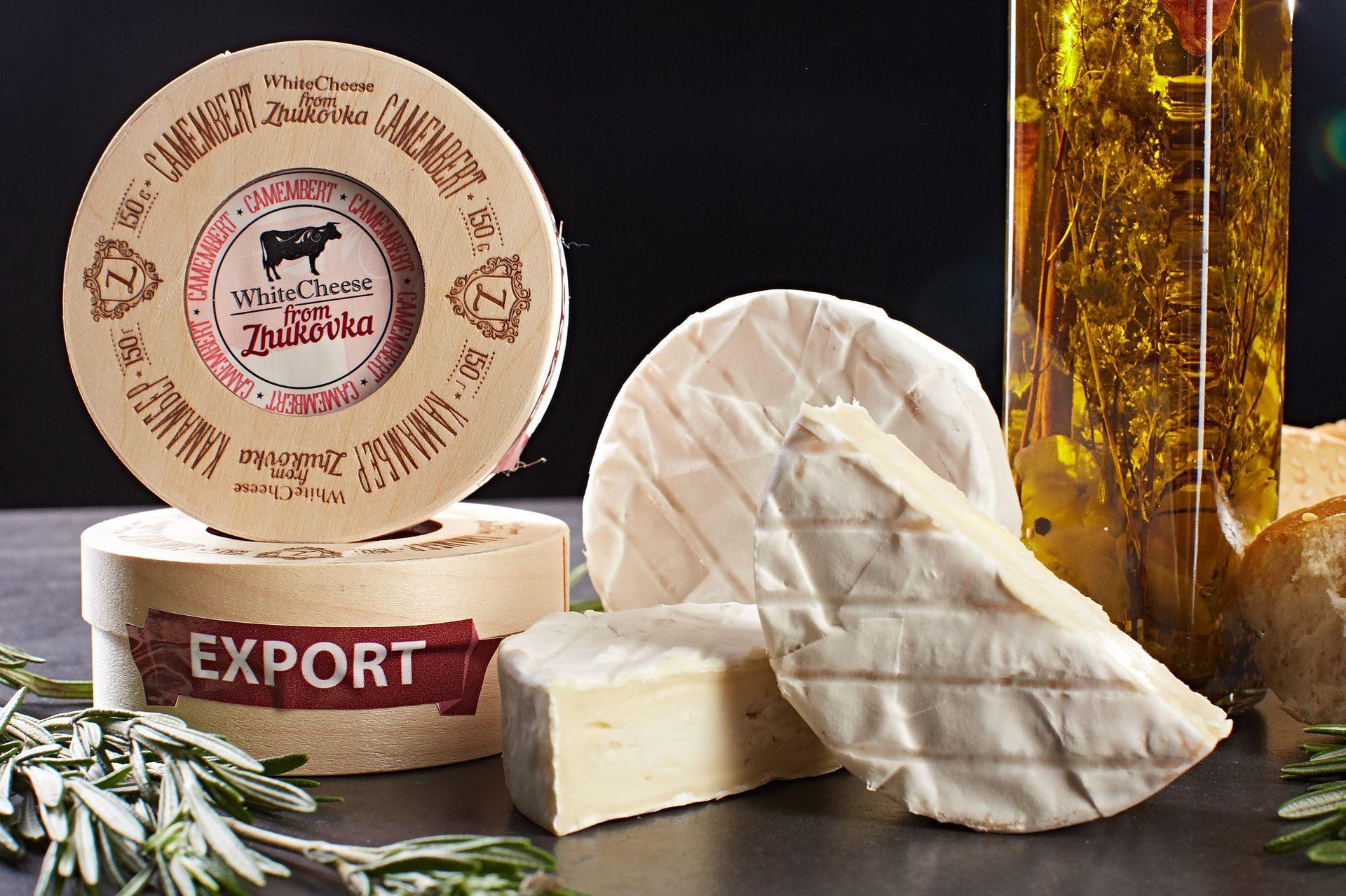 И опять интересные рецепты с Камамбер от от White Cheese from Zhukovka