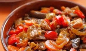 Овощное соте с добавлением гречки