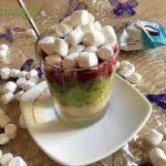 Фруктовый десерт с маршмеллоу