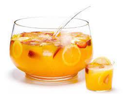 Пунш яблочно-цитрусовый