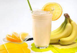 Молочно-банановый коктейль «Сладкоежка»