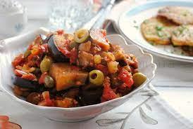 Caponata — Овощная закуска по-сицилийски