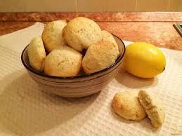 Постное лимонное печенье