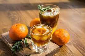 Апельсиновый эспрессо-тоник