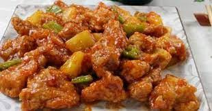 Мясо в крахмале по-китайски
